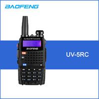 ingrosso palmare a doppia banda-BAOFENG UV-5RC Walkie Talkie Ricetrasmettitore digitale DMR Radio bidirezionale 128CH VHF / UHF Dual Band Ricetrasmettitore portatile Interphone