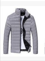 хорошие бренды пальто оптовых-Бренд-дизайнер -осень-мужчины твердые длинный рукав хлопок мягкий хороший продавать куртки пальто белый/темно-синий/черный/красный/озеро синий/оранжевый/светло-серый