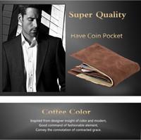 Wholesale coin prices online - Leather Men Vintage Card Holder Purse Clutch Pouch Wallets Dollors Purse Clutch Bag Dollor Price Coin Purse Card Holder LJJK956