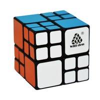 ingrosso bendaggio bambino-CubeStyle WitEden AI Bandage Magic Cube Nero / Bianco Hot Selling Educational Twisty Puzzle Toy per bambini e Speedcubers