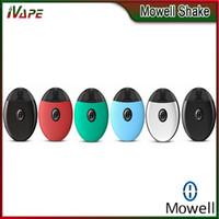 hava cihazları toptan satış-Mowell Shake Pod Kiti 400mAh Sarsıntı Pod Kartuşu ile 2 ml Hava Basıncı Sensörü Beraberlik Aktif Ateşleme Shake-Wake Vaping Cihazı 100% Orijinal