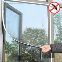 ingrosso volare le tende della porta di rete-Zanzariera Insetti FAI DA TE Zanzariera Rete per porte Rete Rete Rete Schermo per tende Protezione per zanzariere in tutto il mondo