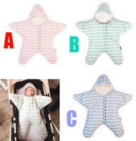 Wholesale newborn baby bedding sets online - 2017 Baby Sleeping Bag Baby Clothing Sets Envelope For Newborns Fashion Sleeping Bag Cute Cartoon Bedding Set Retail