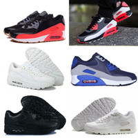 Wholesale Hot Sale Running Shoes For Women Men High Quality Sport Shoes Black White Trainers Air Cushion Sneakers Eur