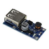 usb güç kaynağı voltajı toptan satış-0.9V-5V için 5 V DC-DC USB Gerilim Dönüştürücü Step Up Güçlendirici Güç Kaynağı Modülü