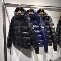 Wholesale Plus Size Tweed Coat - Real Pictures Mon Jacket Down Three Colors Luxury Brand Men s Clothing Men Winter Outdoor Down Jacket Man Casual Hooded Down Coat Outerwear