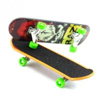 Wholesale fingerboard resale online - Hot new Mini Finger Skateboards Unti smooth Fingerboard Boys Toy Finger Skate Finger Toys