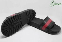 Wholesale M Pop - Italy Brand Sandals Fashion Pop Slippers Causal Slide Stripe Design Huaraches Flip Flops Loafers Scuffs by Free DHL Shipping