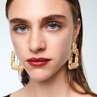 Wholesale geometric earrings for sale - vintage drop Earrings for women Luxury boho personality simple Geometric Dangle earrings Vintage geometric color Jewelry
