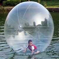 zorb ball tizip großhandel-Aufblasbarer Wassersport-gehender Ball-Wasser-Rollen-Ball-Wasserballon Zorb-Ball-aufblasbarer menschlicher Hamster-Plastik Freeshipping Fede