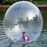 zorb insan hamster topu toptan satış-Şişme Su Sporları Yürüyüş Topu Su Haddeleme Topu Su Balon Zorb Topu Şişme Insan Hamster Plastik Freeshipping Fede