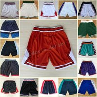 Wholesale usa pants - Wholesale Mens Basketball Shorts 1992 USA Dream Team Pants 1996 All Star Shorts Quick Dry Breathable Sweatpants Tune Squad Space Jam Shorts