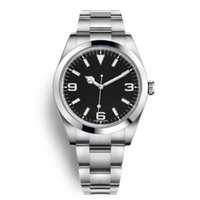 Wholesale casual watches for sale - Top Brand AAA Luxury Watch Explorer Black Dial Stainless Steel Automatic Watch Casual Date Reloj De Lujo montre Relojes De Marca Wristwatch