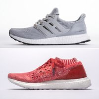 Wholesale grey market - 2018 Ultra Boost Uncaged Coral 4.0 Shoes - comfy Sneakers UltraBOOST on market for Men Women Size 13 Triple Black White caged & uncaged