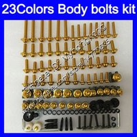 Wholesale kawasaki zx 6r 1998 fairing for sale - Group buy Fairing bolts full screw kit For KAWASAKI ZX6R ZX R ZX R ZX R Body Nuts screws nut bolt kit Colors