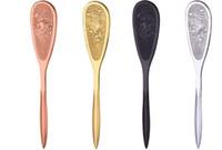 cuchillos de espesor al por mayor-Puerh Tea Knife Acero Inoxidable Puer Aguja Espesor Insertar Pastel de Té Cono de Ladrillo Herramienta Pry DF5602