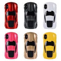 Wholesale hard plastic tire for sale - Racing Sport Car Cool Hard plastic Brand Case tire tyre Stand Holder skin cover for iphone X iphone With Stand Holder