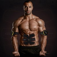 Wholesale Home Gym Trainer - Muscle Toner, Efly Abdominal Toning Belt, EMS Abs Trainer Wireless Body Gym Workout Home Office Fitness Equipment For Abdomen Arm Leg Traini