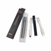 en iyi değişken voltajlı pil toptan satış-En iyi kalite Max Preheat Pil 380mAh Değişken Gerilim Alt Şarj kablosu 510 Pil için Kalın Yağ Buharlaştırıcı Kalem vape Kartuşları