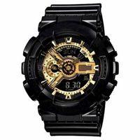 relógios de quartzo venda por atacado-2018 nova Moda Chegada Dos Homens G Estilo Militar Relógios De Pulso Multifuncional LED Digital Choque De Quartzo Relógios Esportivos para Homem Masculino Estudantes relógio