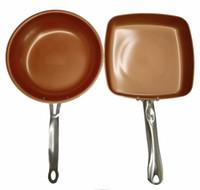 herramientas para cocinar de cerámica al por mayor-Sartén antiadherente de cobre Sartén antiadherente con revestimiento cerámico Ceramica Cazo Herramientas de cocina Utensilios de cocina
