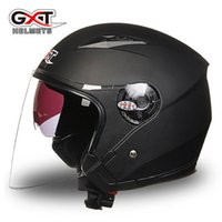 Wholesale Electric Dirt Motorcycle - GXT G512 dual visor dirt biker helmets for women, electric motorcycle MOTO bicycle scooter safety helmet headpiece red pink