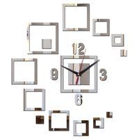 Möbel Wanddekor Großhandel 2017 Heißer Verkauf Wandaufkleber Uhren  Wohnkultur Acrylspiegel Oberfläche Moderne Möbel Diy Aufkleber