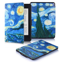 Wholesale cases for kindle paperwhite resale online - Cover for kindle paperwhite Lightest and Thinnest Premium Leather Case Smart Protective Auto Wake Sleep
