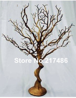 Wholesale crystal wedding trees centerpieces for sale - Group buy no crystal including new manzanita tree wedding wedding table tree centerpieces