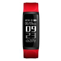 ingrosso wristband di sonno di attività senza fili del flex di fitbit-Il più nuovo orologio astuto del braccialetto Inseguitore di forma fisica Monitor di frequenza cardiaca di pressione sanguigna Orologi intelligenti Schermo impermeabile Smartwatch per iPhone Android