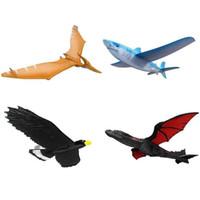 drachenfliegen spielzeug groihandel-Hand Start Werfen Segelflugzeug Flugzeug Trägheits Schaum Segelflugzeug Shark Eagle Fly Dragon Modell Outdoor Sports Fliegen Spielzeug Für Kinder Geschenk