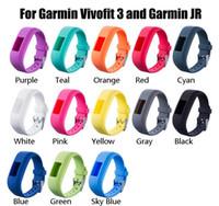 Wholesale garmin vivofit3 bands replacement resale online - 13 Colors Soft Silicone Replacement Wrist Watch Band Strap For Garmin Vivofit3 Vivofit Smart Watch Bands