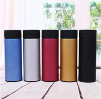 Wholesale Tea Cup Portable - 2017 450ML Business cups large capacity cups vacuum stainless steel portable water bottle free shipping