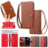 Wholesale branded pouches resale online - For iPhone X Xs Max Xr Plus Samsung S9 S8 Plus Premium Retro Card Slots Flip Leather Wallet Case Cover