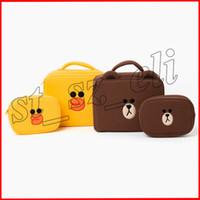 ingrosso belle borse cosmetiche-Cute Cartoon Ladies Cosmetic Bags Cases Women Piccolo bellissimo trucco da toilette Girls Travel Pouch Travel Necessario Organizer