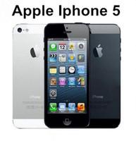 apfel i5 telefone großhandel-Refurbished Original entsperren iphone Apple 5 i5 IOS Smartphone 4,0 Zoll 32G ROM entsperrt Handys