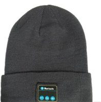 Wholesale Ipad Fall - Bluetooth Music Hat Soft Warm Beanie Cap with Stereo Headphone Headset Speaker Wireless Microphone for man support for iphone ipad MP3 ipod