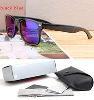 Wholesale purple glass cleaner - 2140 Mens Womens Sunglasses Evidence Sun glasses Designer Black Frame Glasses Eyewear Come With Case And Cleaning Cloth High Quality