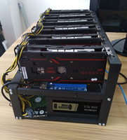 Wholesale Usb Casing - steel bitcoin miner case mining frame mining rig open Air support 6 -8 GPU for BTC LTC ETH Ethereum