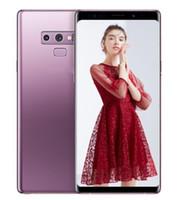 kilitli olmayan cep telefonu toptan satış-ERQIYU Goophone not 9 note9 cep telefonları 6.4 inç gösterilen 4g lte 16.0MP Sekiz Çekirdekli 4 GB 128 GB ROM Android 9.0 Unlocked Akıllı Telefonlar