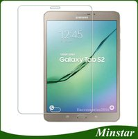 Wholesale Galaxy S2 Screen Protectors - For Samsung Galaxy Tab S2 T810 T815 9.7 Inch S3 T825 9.7 9H Tough Tablet Tempered Glass Thin Film Screen Protector