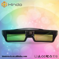 Wholesale Acer Dlp - 4PCS 3D Active Shutter Glasses DLP-LINK DLP LINK 3D glasses for Optoma Sharp LG Acer BenQ w1070 Projectors dlp link