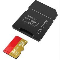 10 Pièces Carte Mémoire 16 G 32 G SDHC 64 G 128 G SDXC U3 Micro SD Classe 10 Micro SD UHS TF Trans Flash Microsd Carte Max pour Smartphone Tablet