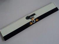 Wholesale black white mats for sale - Group buy Black White PVC Rubber Bar Mats Hot Sale universal counter pad plastic rubber table mat pads