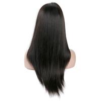 8a peluca de pelo peruano al por mayor-Grado 8A Pelucas de cabello humano sin procesar para las mujeres negras Pelucas sin cola del frente del cordón Pelucas brasileñas del cordón del pelo indio del indio de Malasia