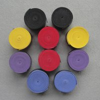 ingrosso grip per la racchetta di badminton-Racchetta da badminton Overgrip da 10 pezzi con racchetta da tennis Over Grip