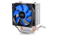 mini ventilador cpu al por mayor-Sistema de refrigeración 2 heatpipe para Intel LGA775 / 1155/1156/1150 para AMD FM1 / FM2 / AM3 + / AM2 + CPU Radiador CPU Fan Ice Mini Ultimate