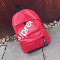 hazır çanta markaları toptan satış-Yeni Varış Genç Kızlar Için Öğrenci Sırt Çantaları Tiki Tarzı Tasarımcı Yeni Moda Gençler Yüksek Okul PU Deri Marka Kadın Sırt Çantaları