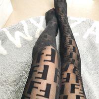 ingrosso calze nere sexy più sottile-Calze da lettera nera per donne sexy calze da notte per signora party collant stile vintage sexy calze femminili per il partito