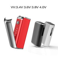 Wholesale Red Files - New D-box vape mod 2 in 1 starter kits with wax tank and bud thick oil cartridge 1000mah battery 4 files adjustable voltage